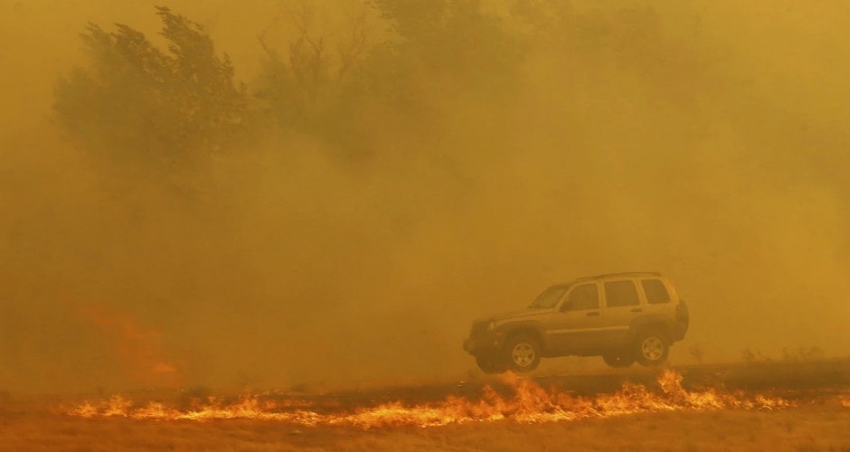 2017 Wildfires have already burned an area the size of Maryland