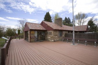 Headquarters for the Malheur National Wildlife Refuge in SE Oregon.