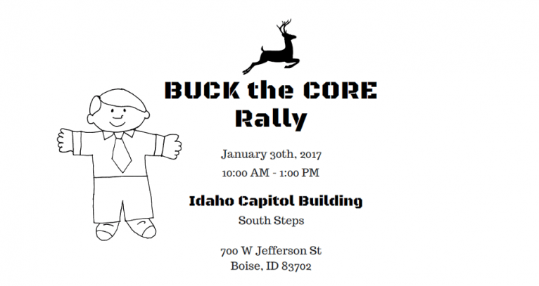 Buck the [Common] Core Rally Planned for January 30