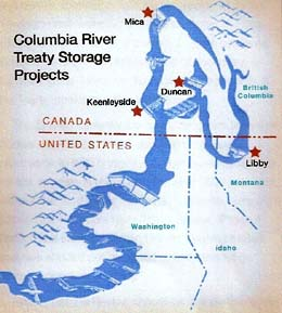 Columbia Canada Map.The Columbia River Treaty Could Be The Death Of Idaho