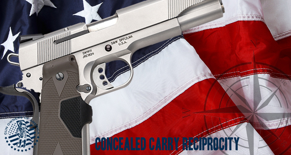 Nationwide Reciprocity? Gun Grabbers are Going to be so Ticked Off!