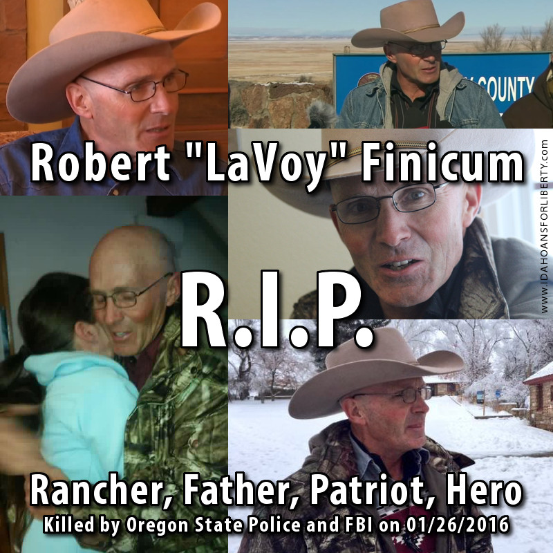 Tribute to LaVoy Finicum