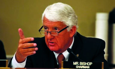 Rep. Rob Bishop (R-UT) is chairman of the House Natural Resources Committee.