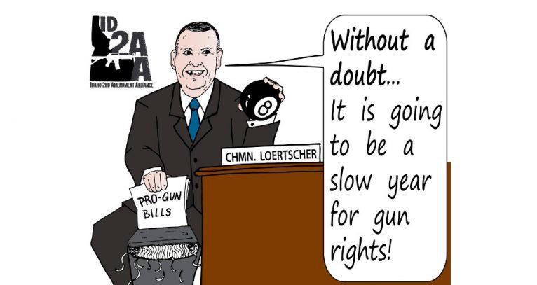 Idaho's 'Secret Gun Committee' is back in action